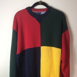 Vintage Tommy Hilfiger heavyweight sweater Sz XXL